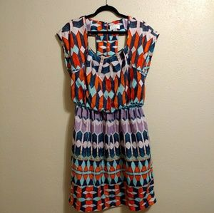 Jessica Simpson plus size tribal print dress